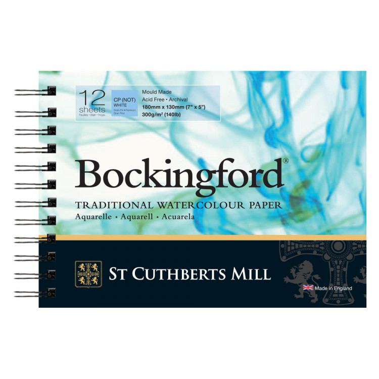 Bockingford CP Spiral Pad
