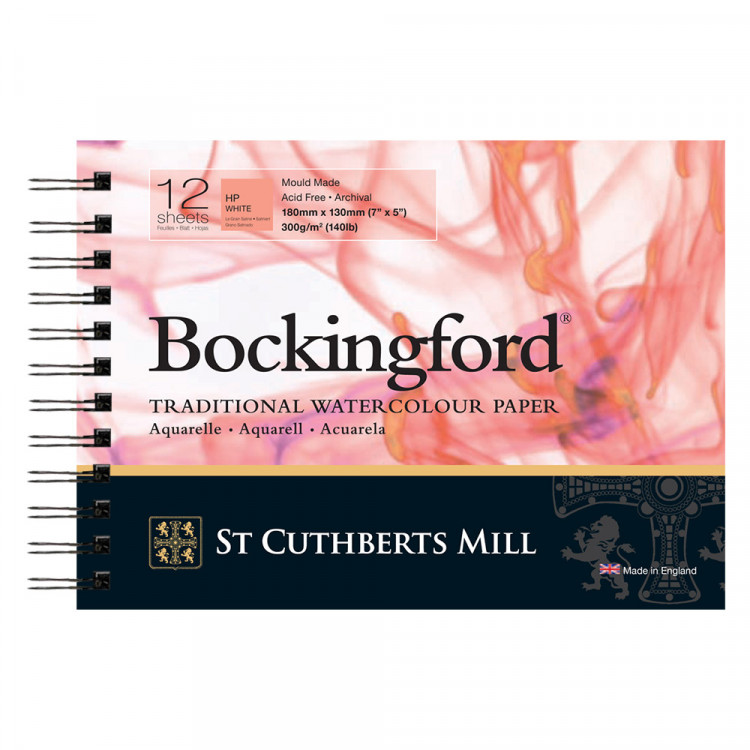 Bockingford HP Spiral Pad