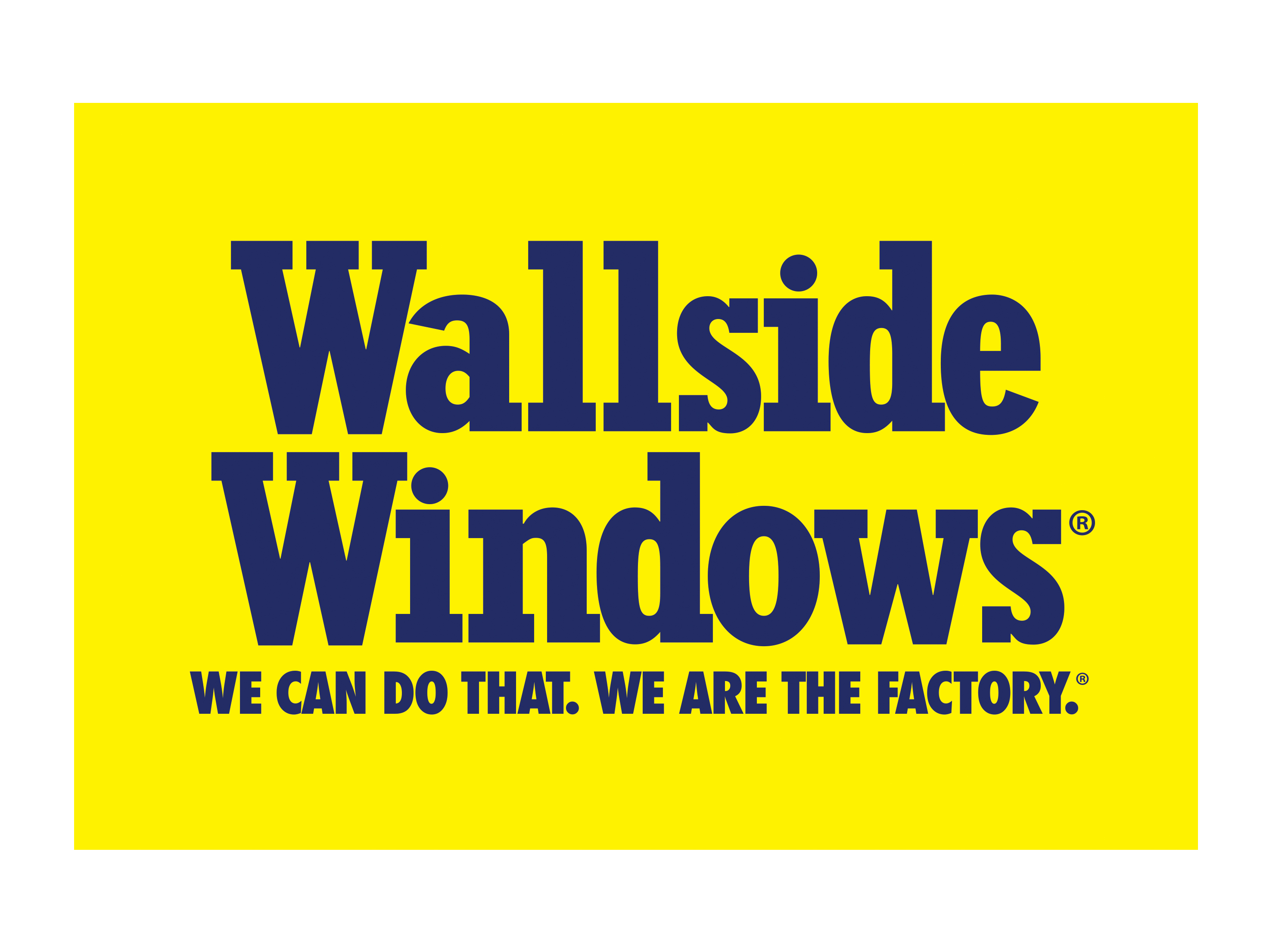how to clean wallside windows