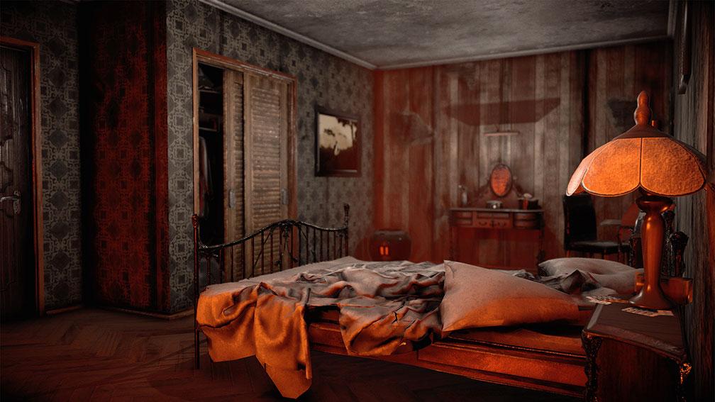 Grandma's Bed Room