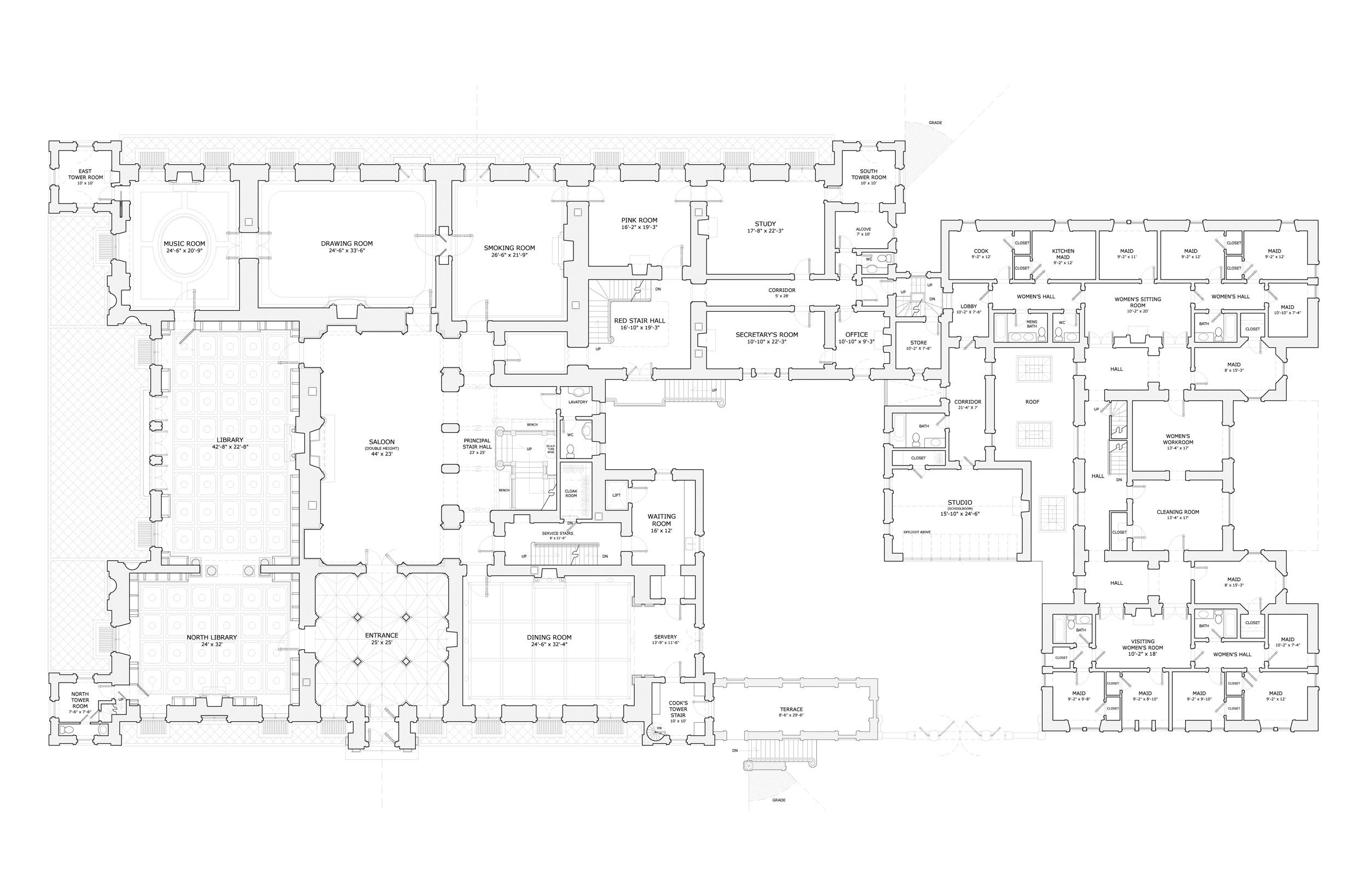 Highclere Castle Downton Abbey Archisyllogy