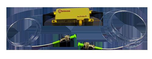 Fiber-coupled A-O Modulator
