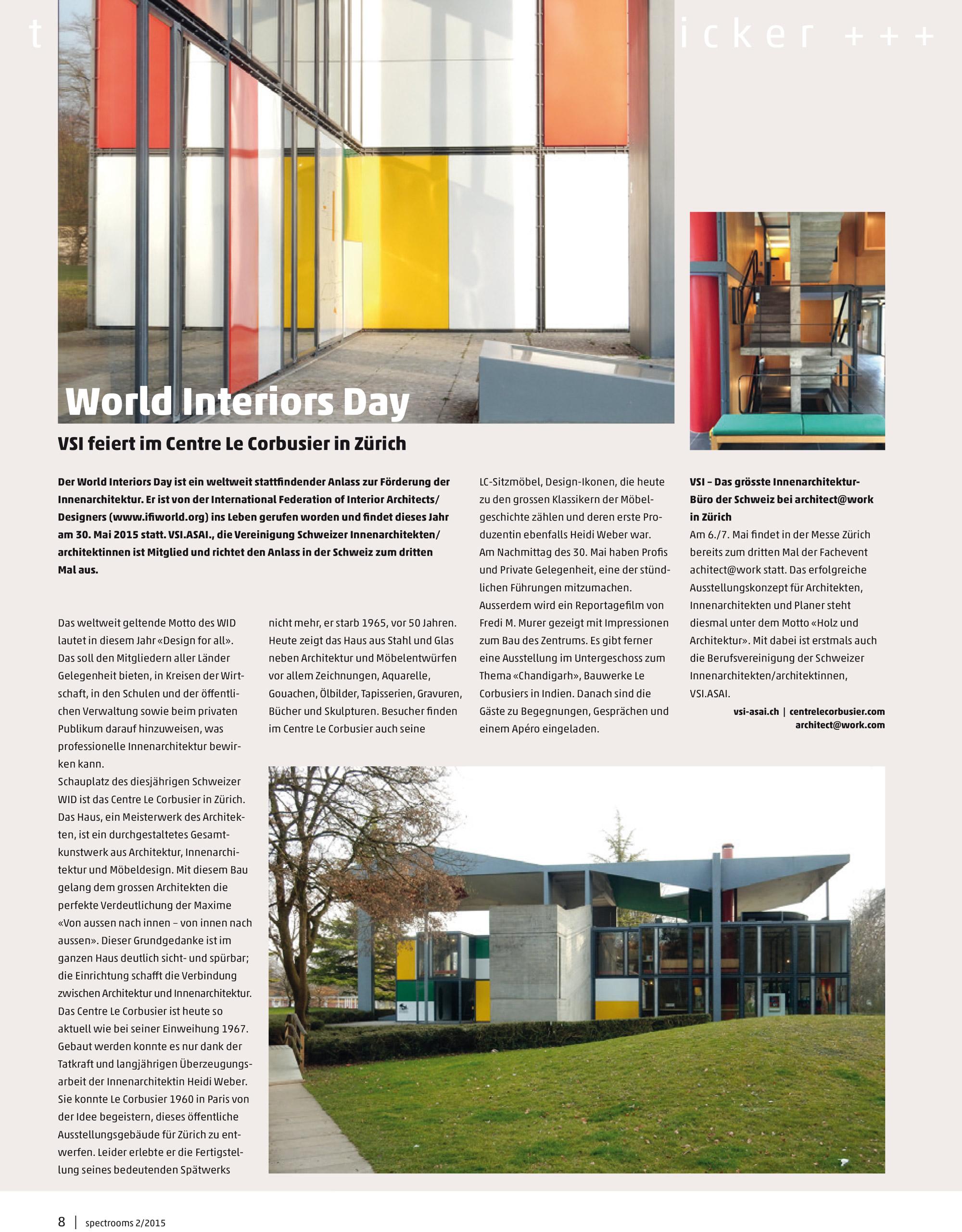 world interiors day — Iria Degen Interiors