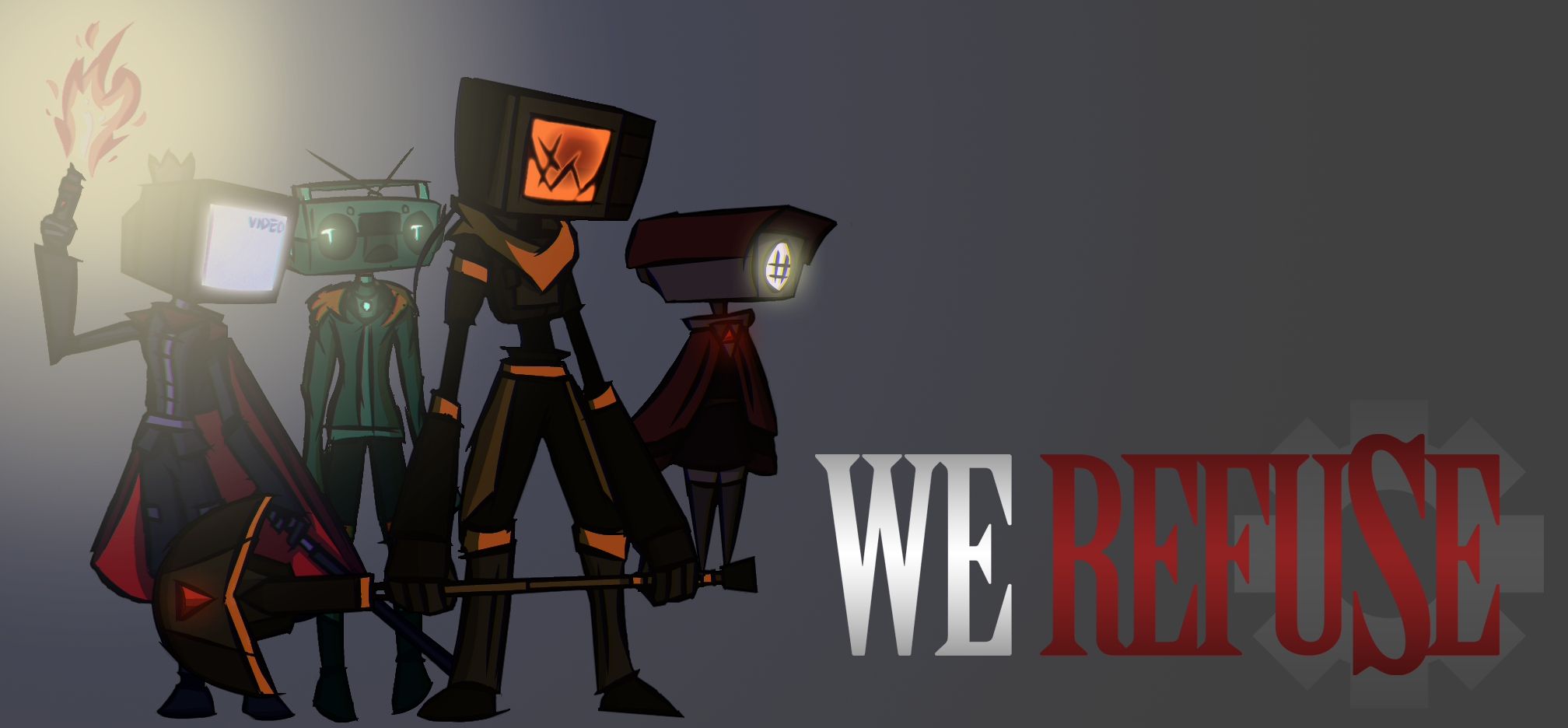 We Refuse Steven Brandle Game Design Portfolio - Game design portfolio