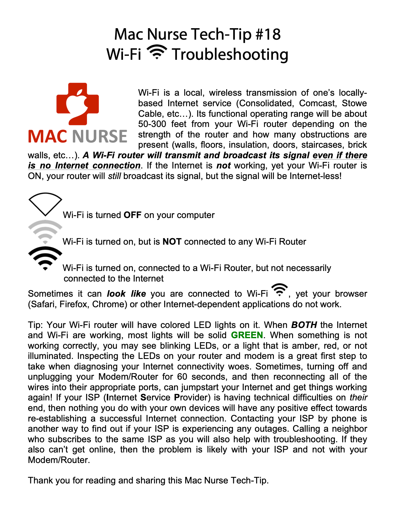 Mac Nurse