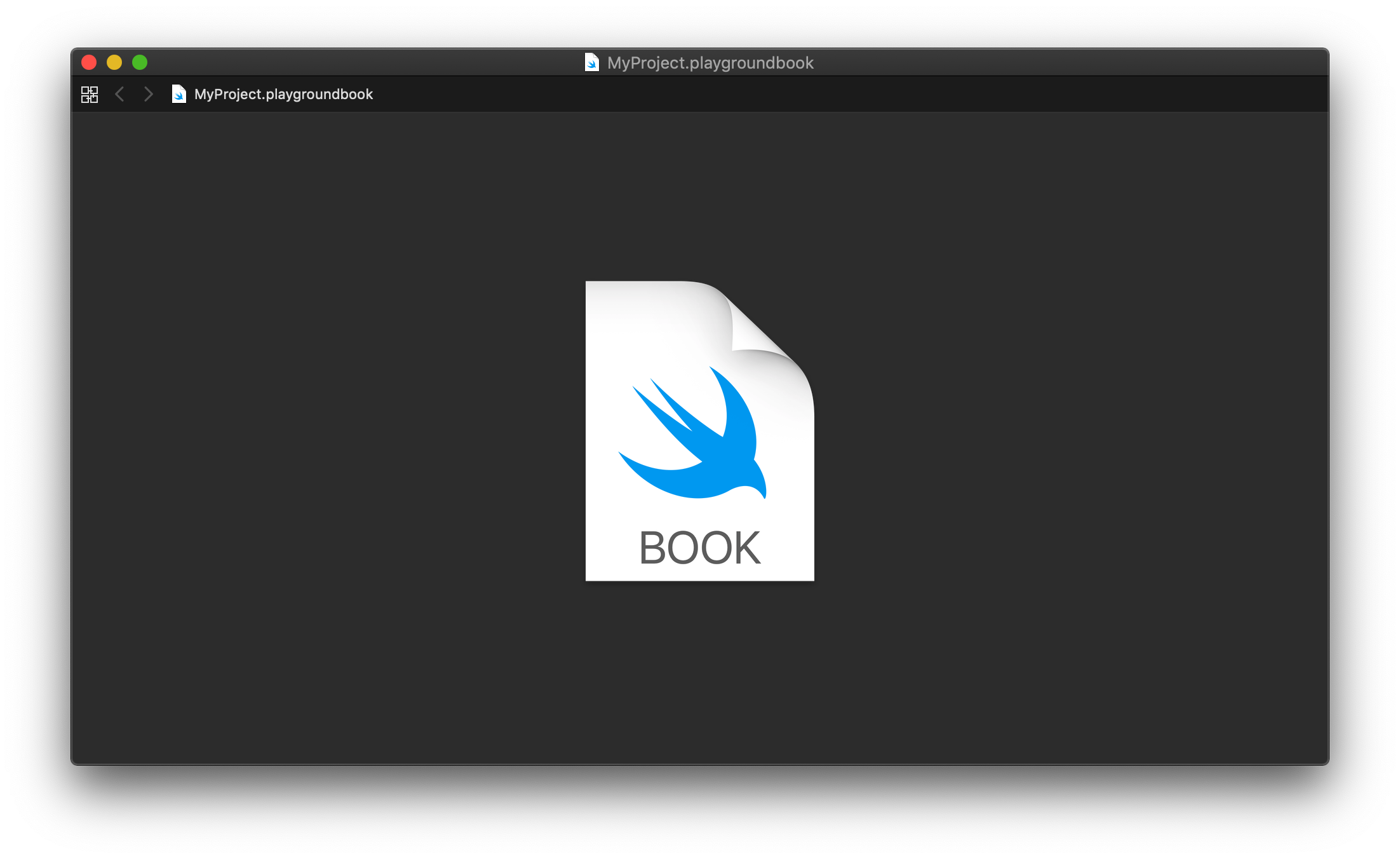 How a Swift Playground book gets displayed in Xcode