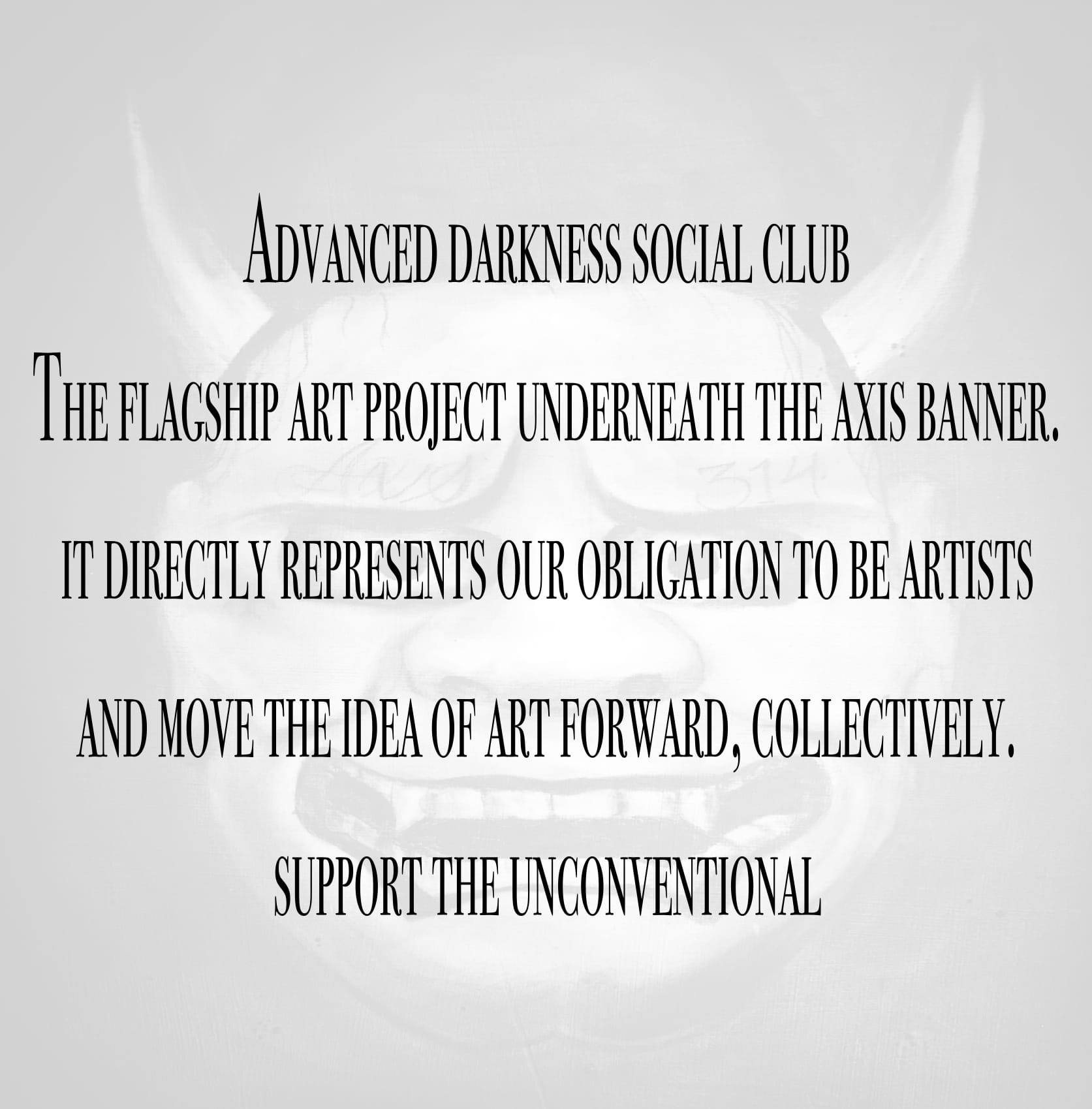 Advanced Darkness Social Club — Axis: The Collective