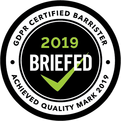 GDPR Certified Barrister 2019