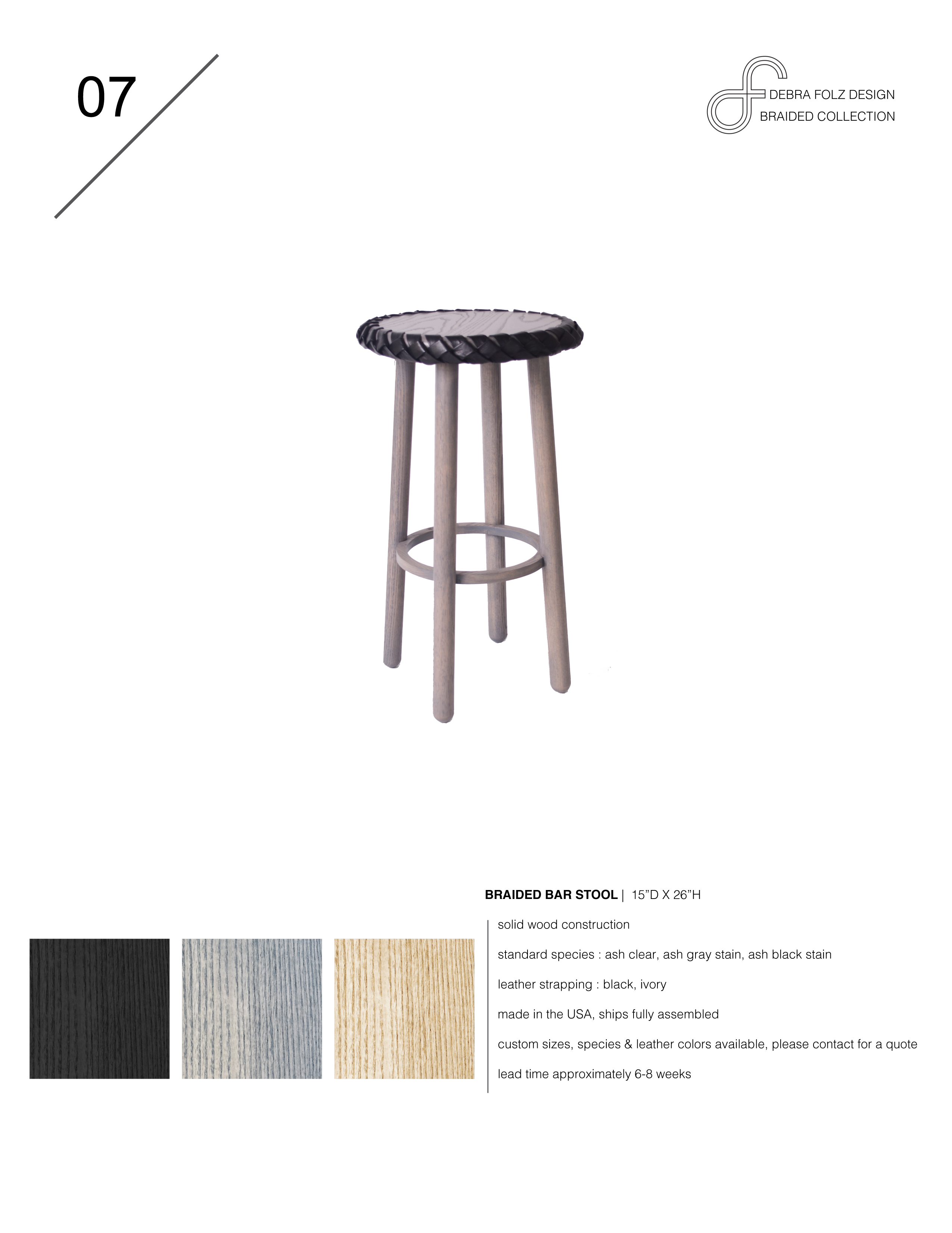 Prime Braided Bar Stool Debra Folzdebra Folz Gmtry Best Dining Table And Chair Ideas Images Gmtryco