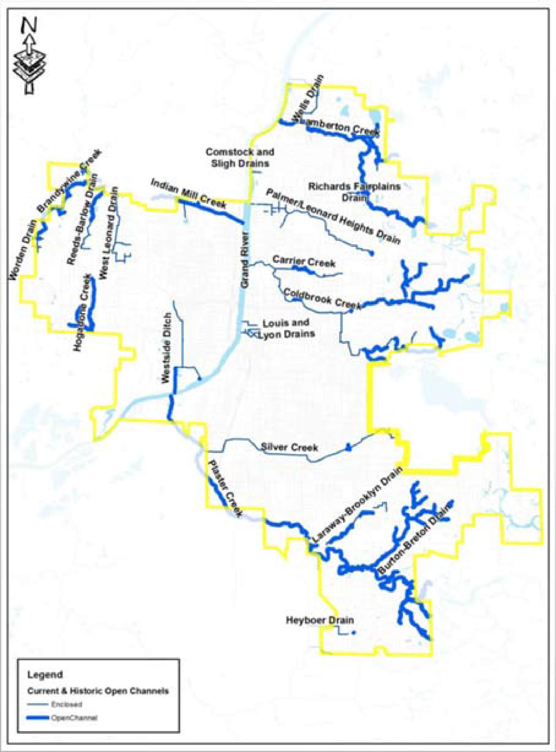 Lower Grand River Organization of Watersheds Coldbrook Creek