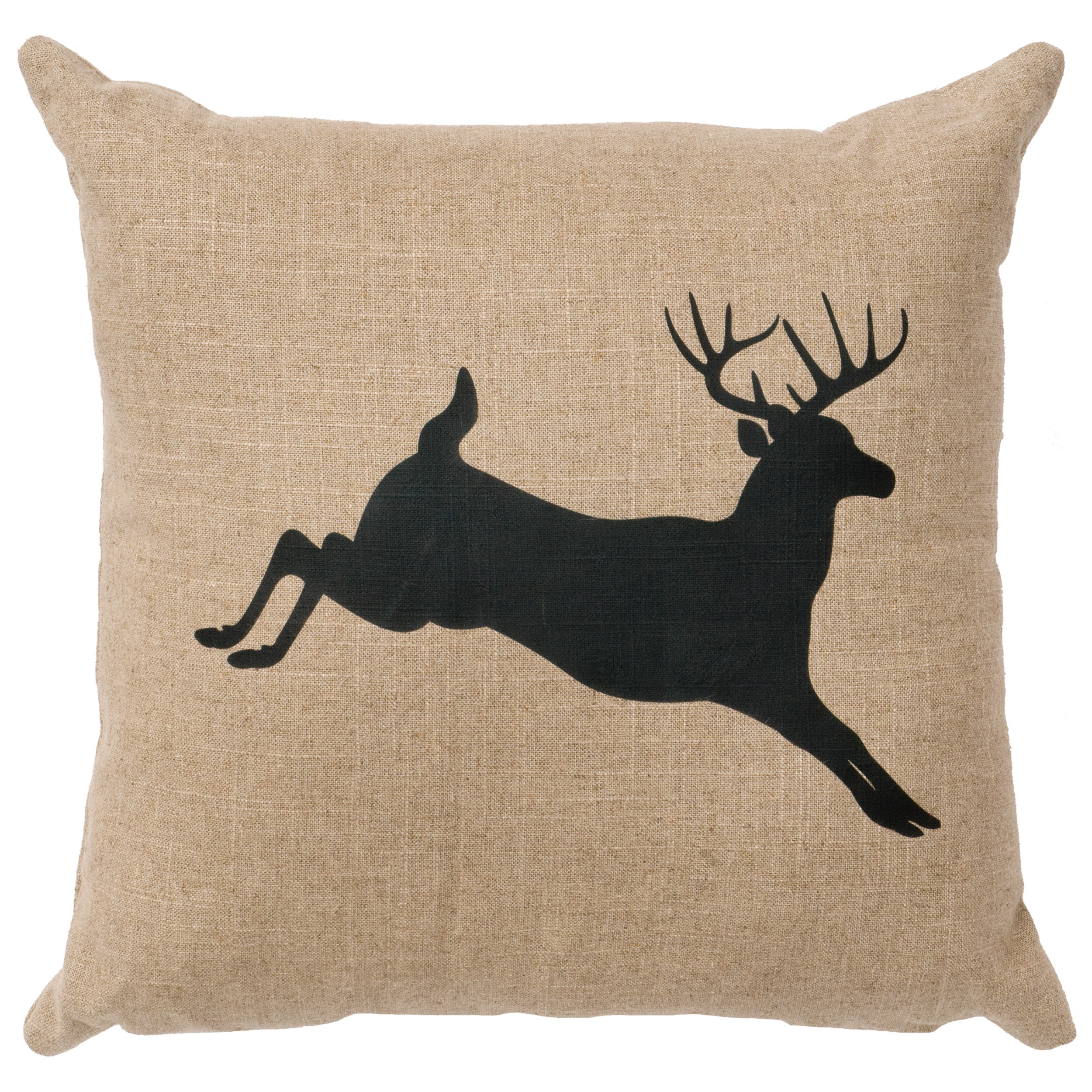 skull pillows product embroidered pillow throw deer chairish