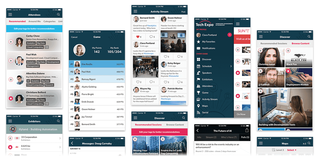 Event App - Conference, Trade Show & Enterprise Mobile Apps