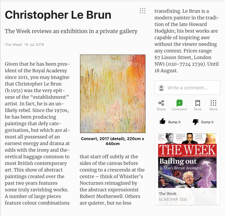 press — CHRISTOPHER LE BRUN
