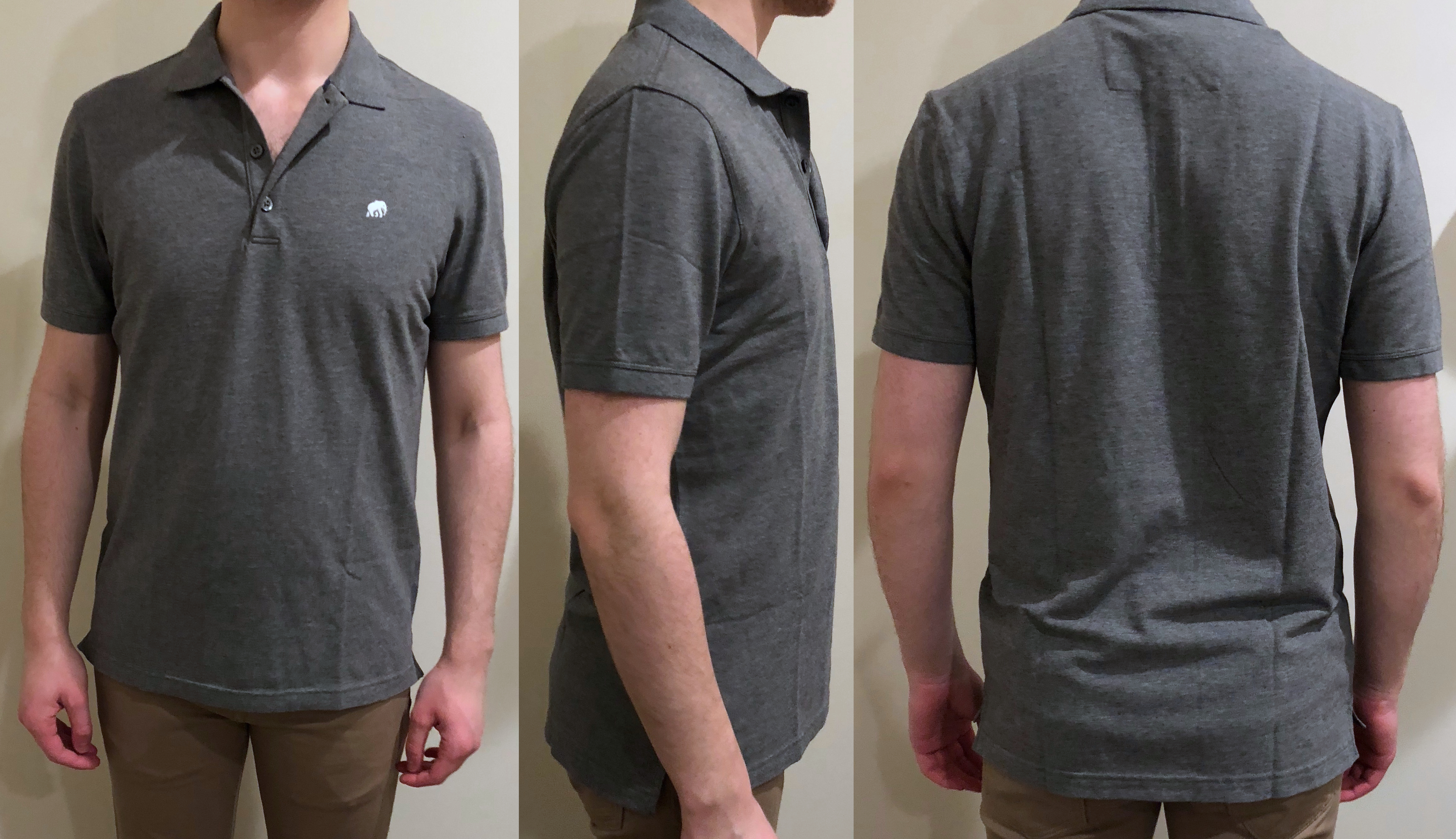 7fba8ade3 ... and much wider in both the chest and waist, though only slightly larger  in the armhole; see chart below. So, at least for this style of polo ...