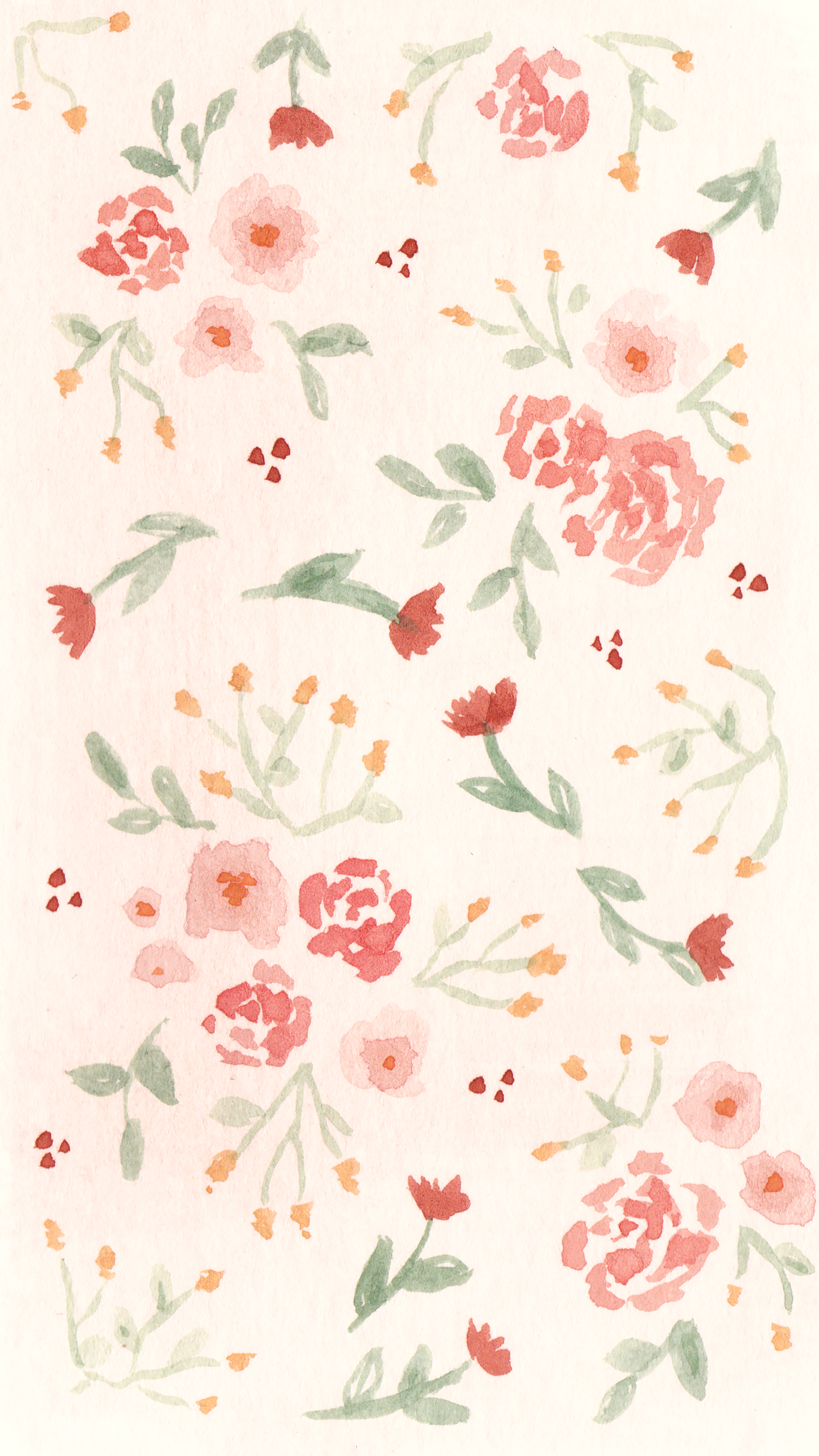 Coeo Print Company Free Phone Wallpaper Spring Florals