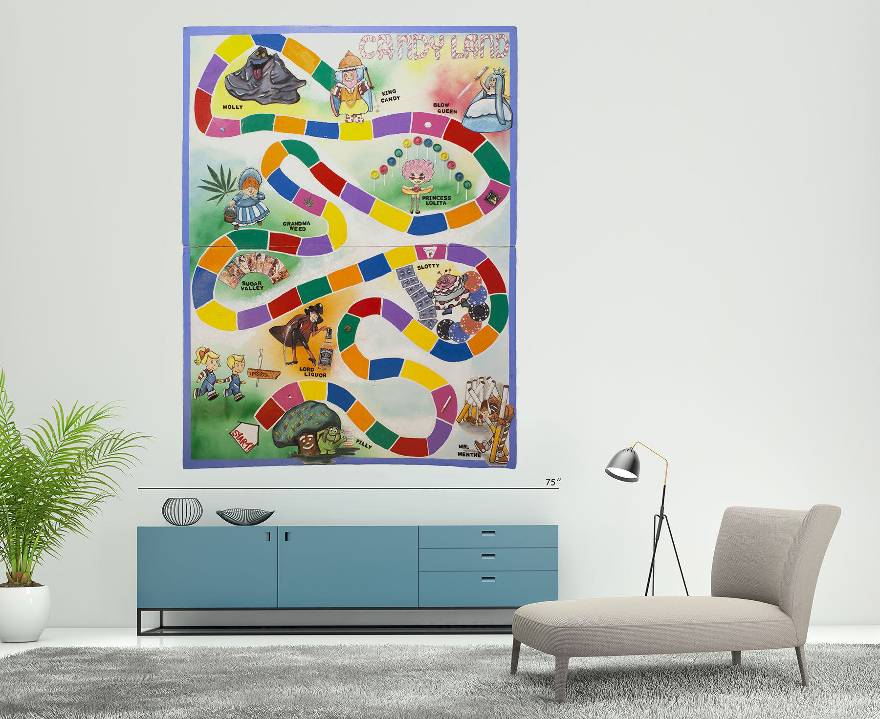 Candyland Artwork by Kristin Simmons