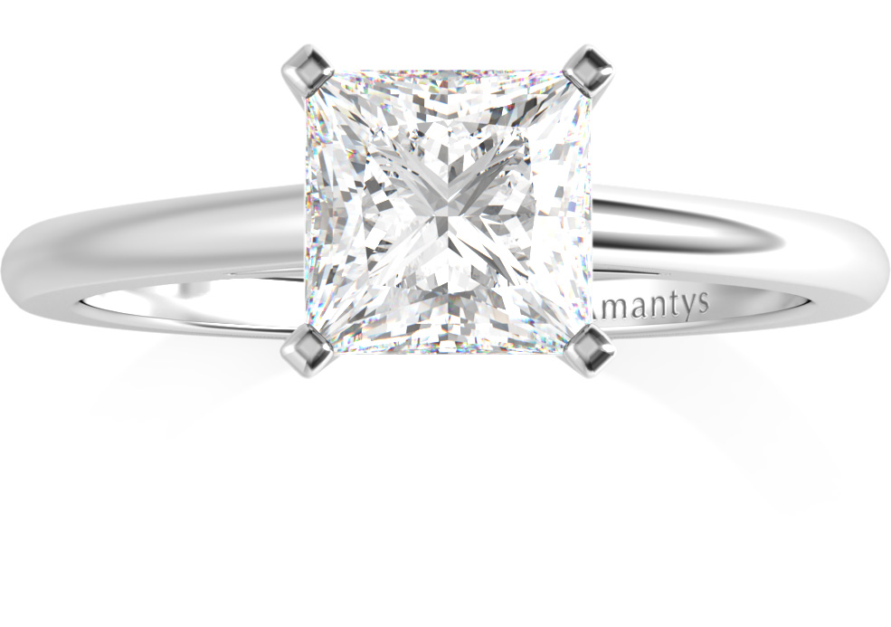 Amantys Bague Diamant Princesse