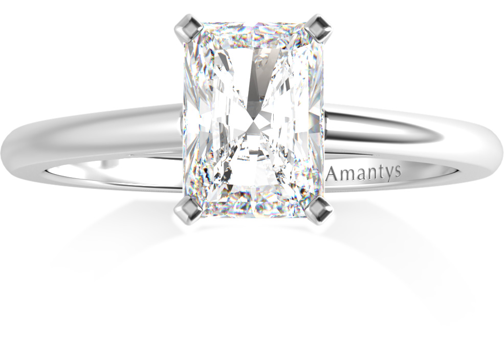 Amantys Bague Diamant Radiant