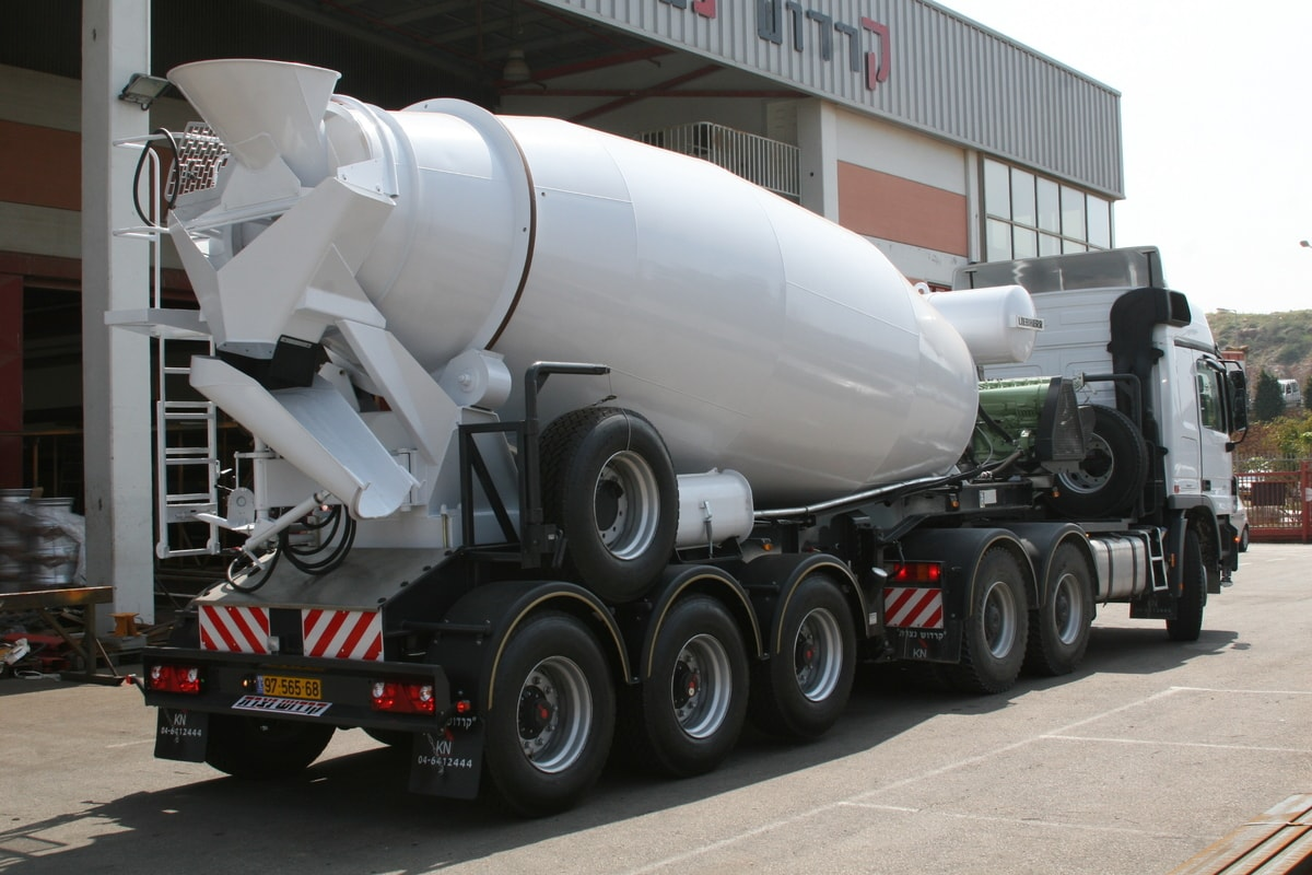 Concrete Semi-Trailers