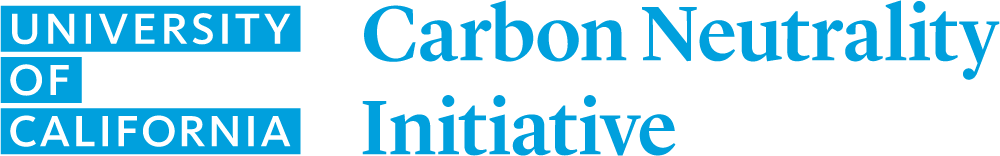 University of California Carbon Neutrality Initiative Logo