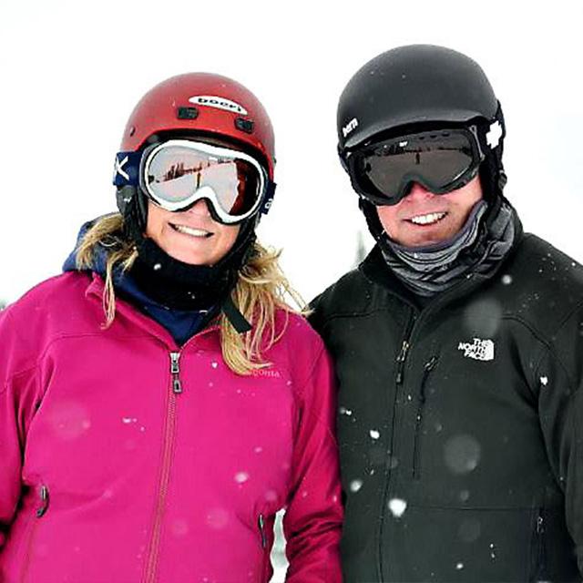 terri skiing