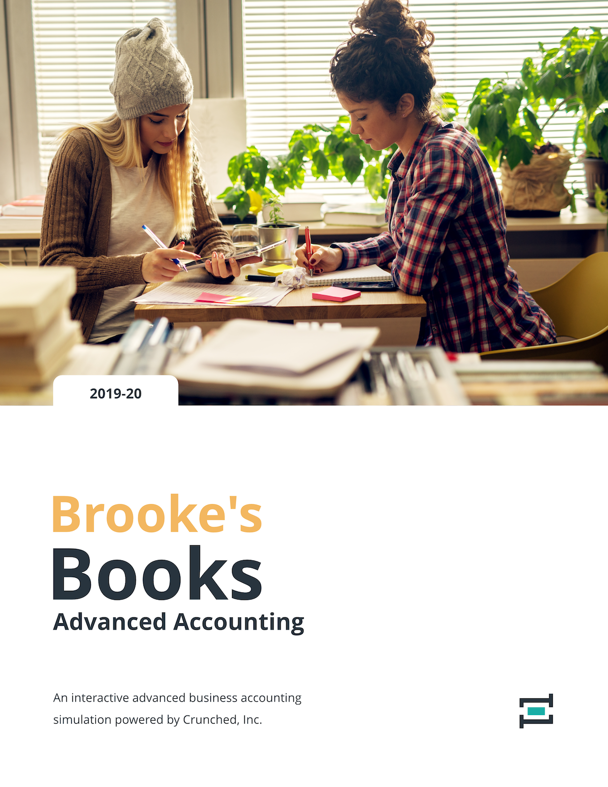 Brooke's Books Advanced Accounting | Crunched Education Program