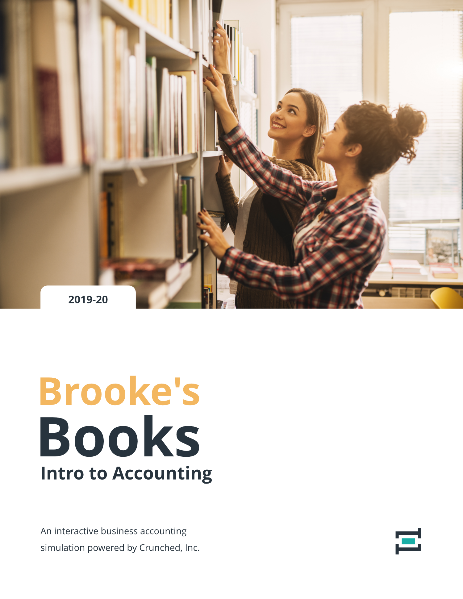 Brooke's Books Intro to Accounting | Crunched Education Program