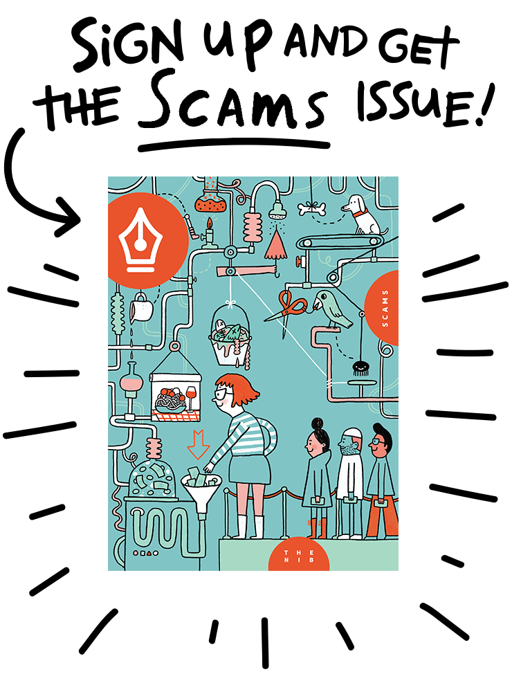 Sign up today and get the Scams issue!