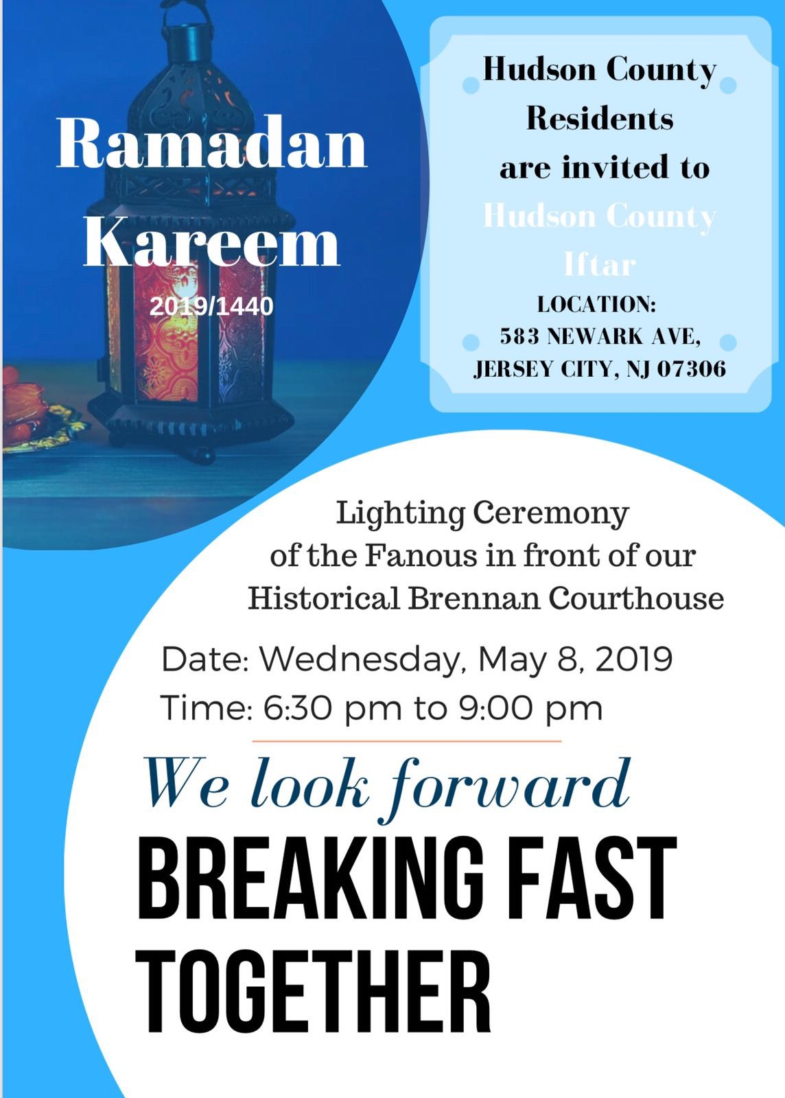 Interfaith Iftar Listings — The Shoulder to Shoulder Campaign
