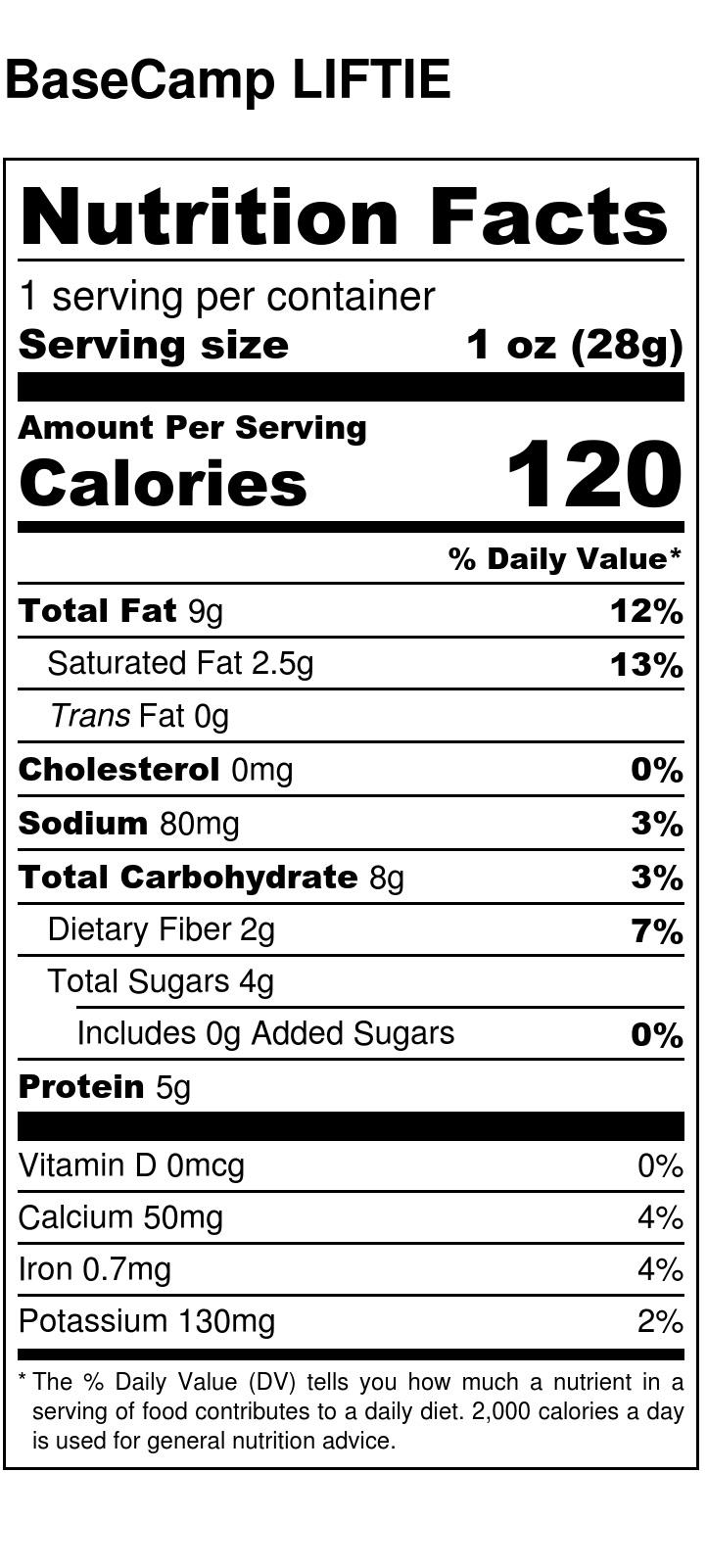 Flavors Nutrition Liftie Bites