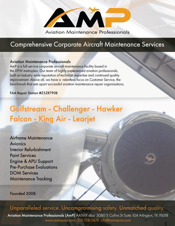 Learjet — AmP