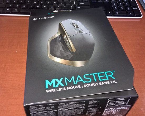 Shiny New Thing: the Logitech MX Master Wireless Mouse — Absolutely John