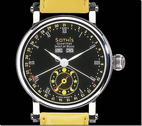 Sothis Quantième Spirit Of Moon: Watch of the day — Absolutely John