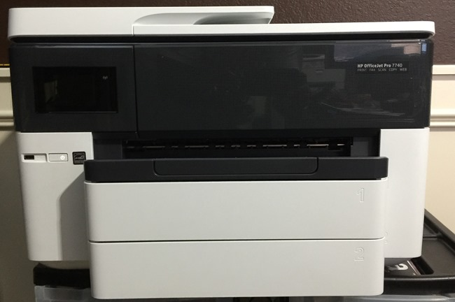 The HP OfficeJet Pro 7740 Review — Absolutely John