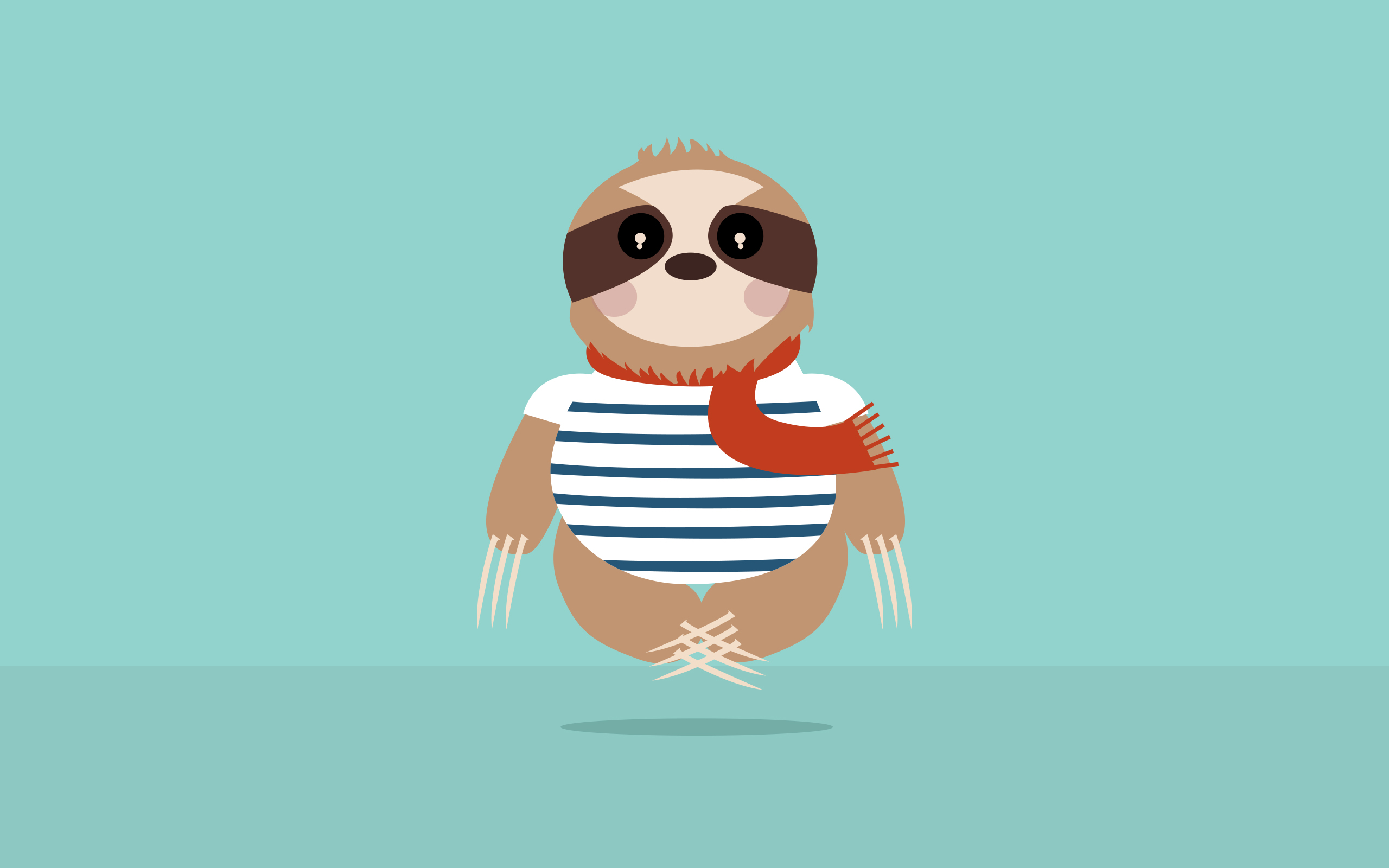Sloth Wallpaper Charlene Flores
