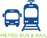 Metro Bus & Rail Mobile Apps Page Icon