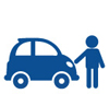 Employer Programs Carshare Icon