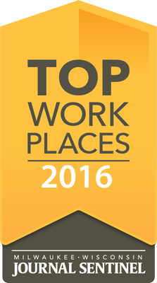 Top Workplaces in Southeastern Wisconsin 2016