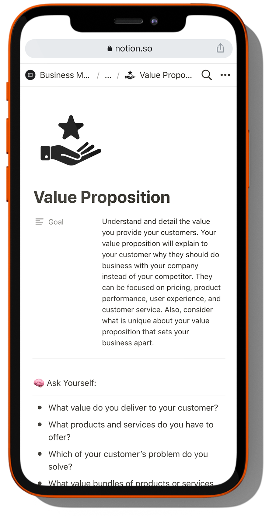 Business Model Canvas Template And Guide For Notion Flaco Creative