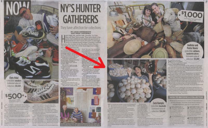 New York Daily News June 3 2009 Zack Hample