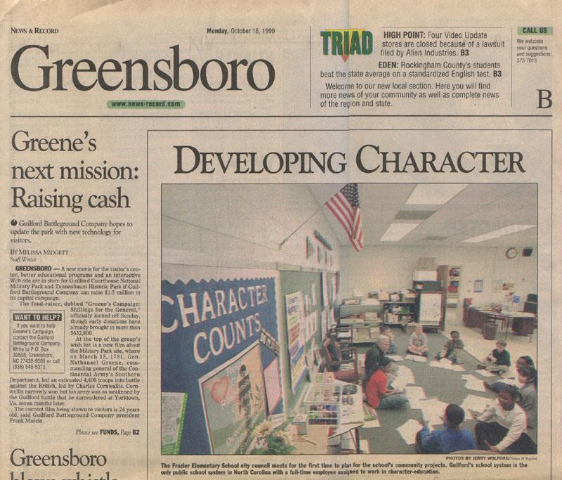 Greensboro News Amp Record October 18 1999 Zack Hample