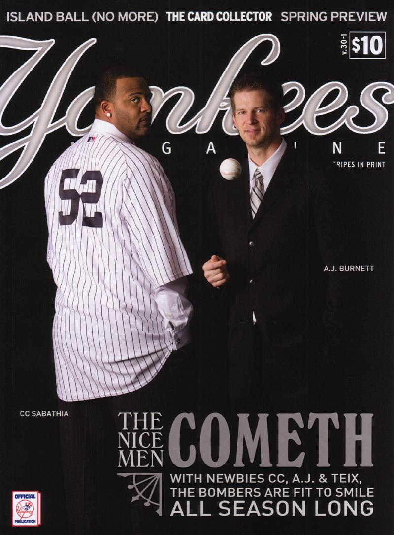 Yankees Magazine Spring 2009 Zack Hample