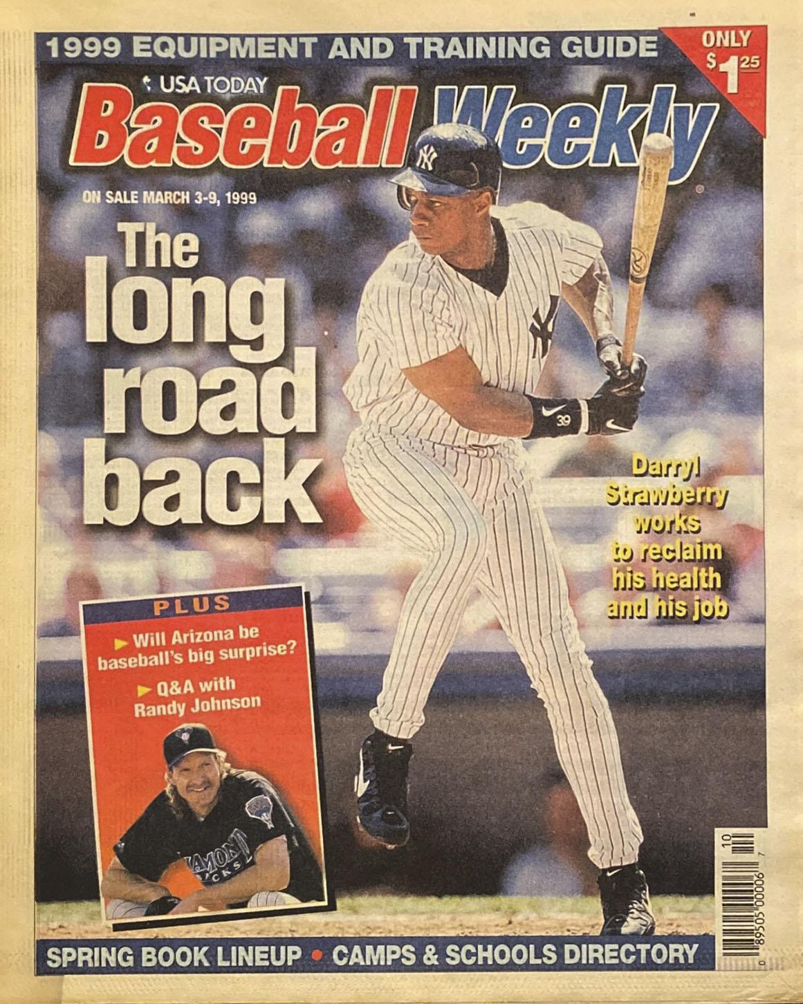 Baseball Weekly March 3 9 1999 Zack Hample