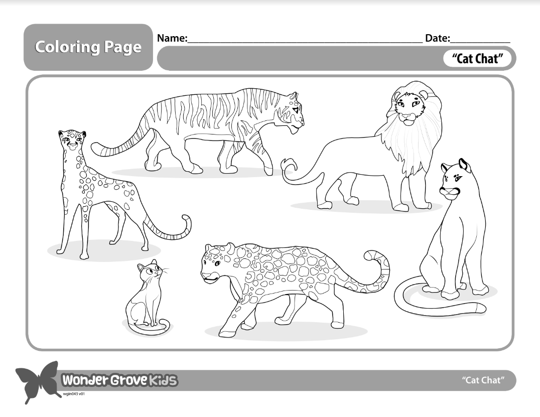 Coloring Pages Wondergrove Soar