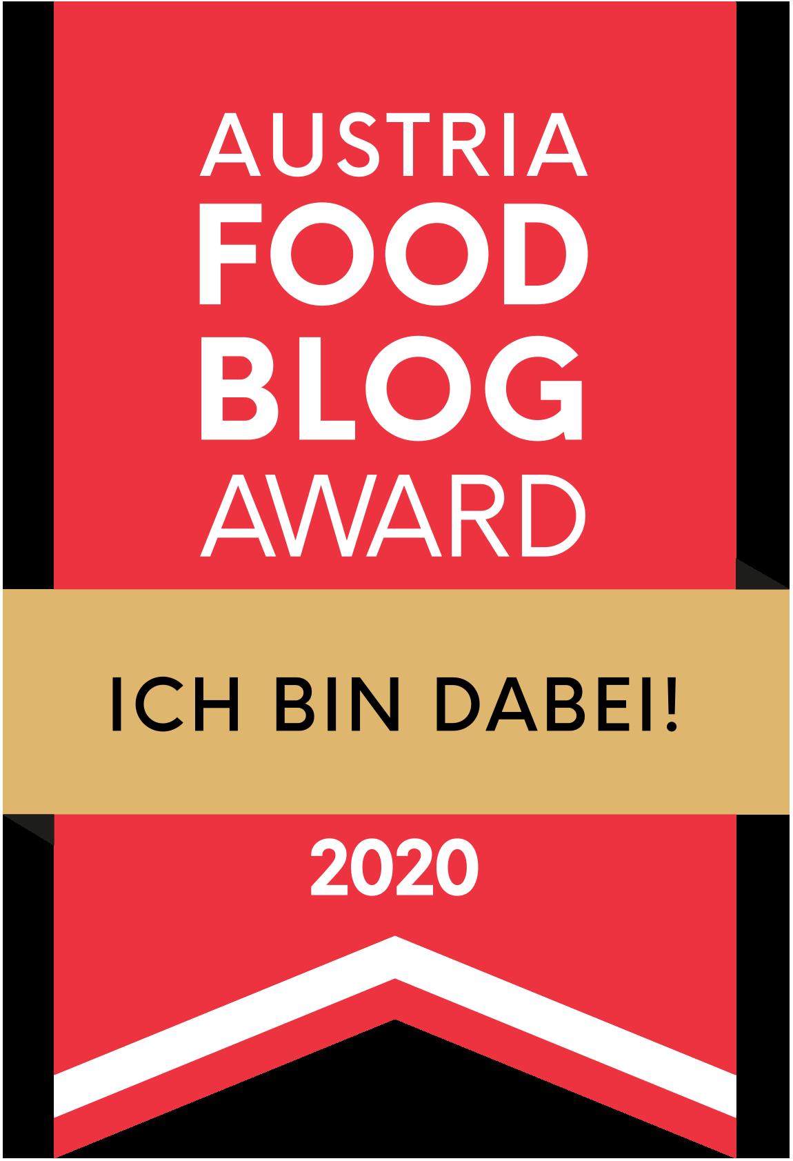 Austria FOOD BLOG Award