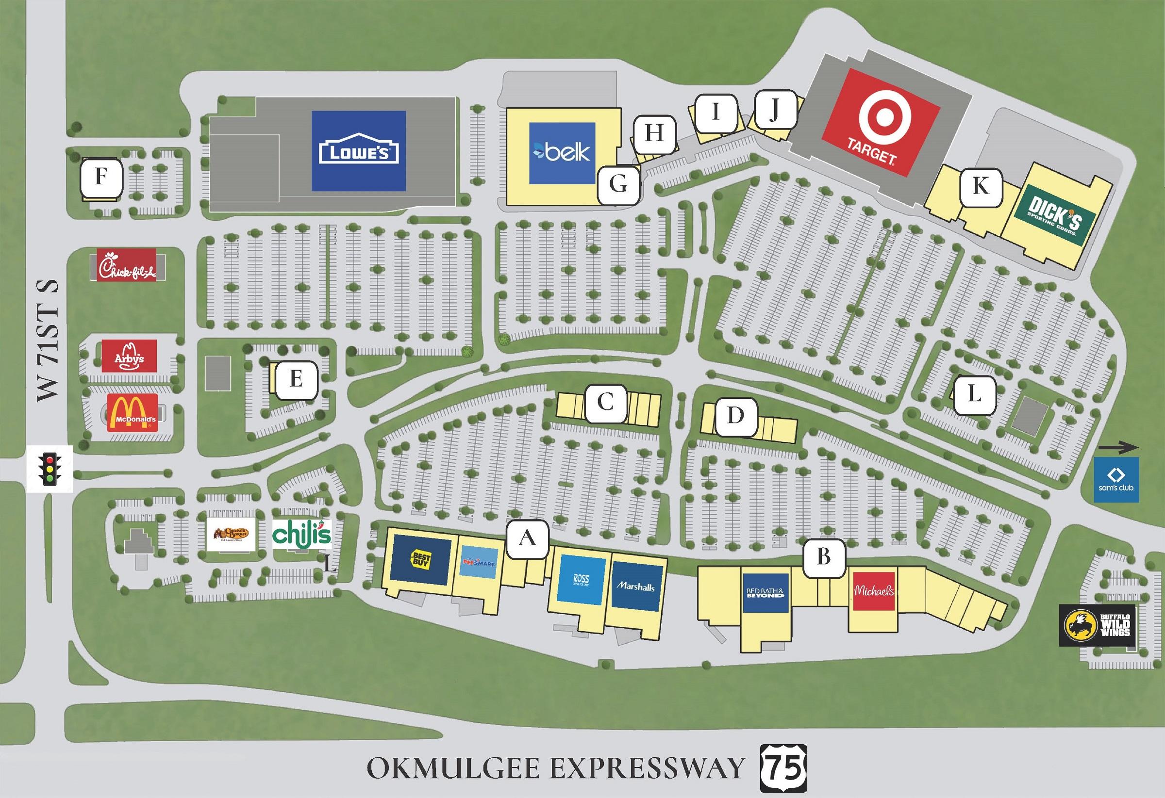 Store Directory Tulsa Hills Shopping Center