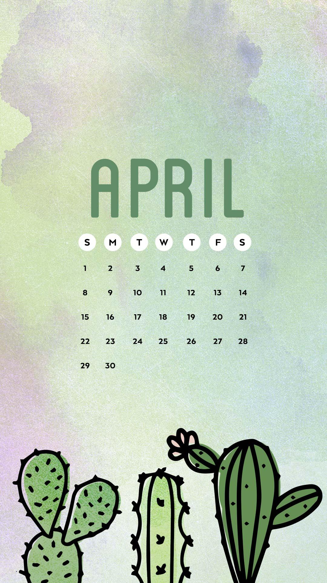 Free Wallpaper For April 2018 Six Leaf Design Logo Branding