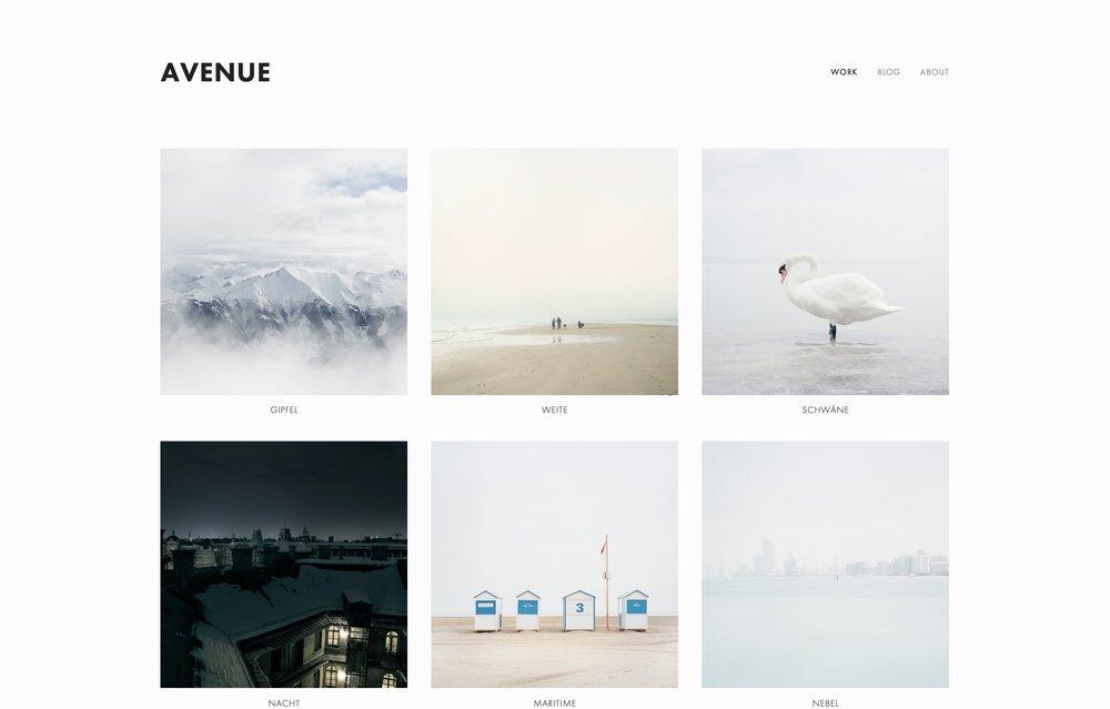 Portfolio Website Templates Portfolio Websites Squarespace