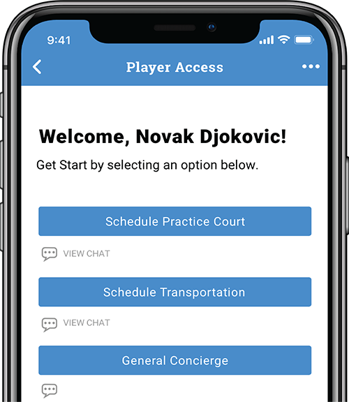 PLAYER ACCESS PORTAL