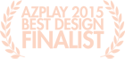AzPlay Best Design Finalist 2015